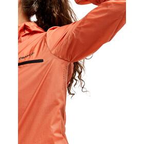Craft ADV Offroad Wind Jacket Women, naranja/negro